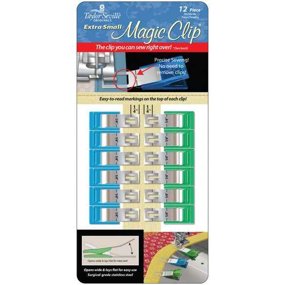 Magic Clips - Extra Small, Set of 12