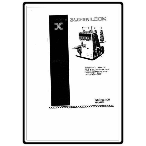 Instruction Manual, White 228