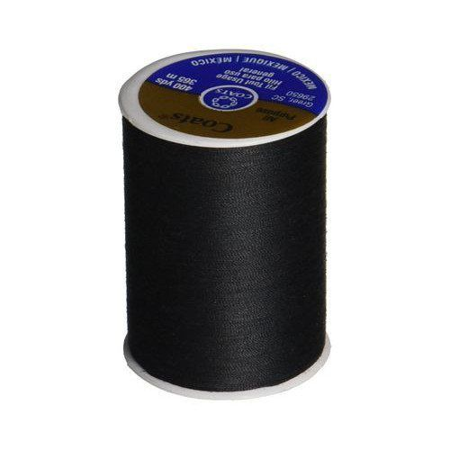Dual Duty General Purpose Thread - Black, Coats & Clark (400 yds)