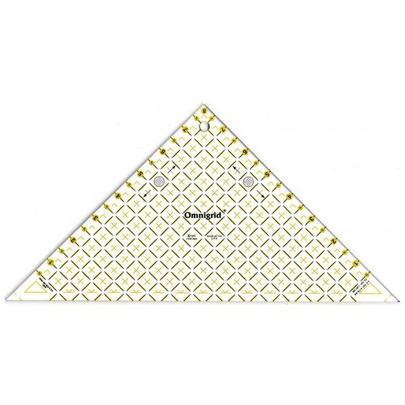 Right Triangle Ruler 8in, Omnigrid