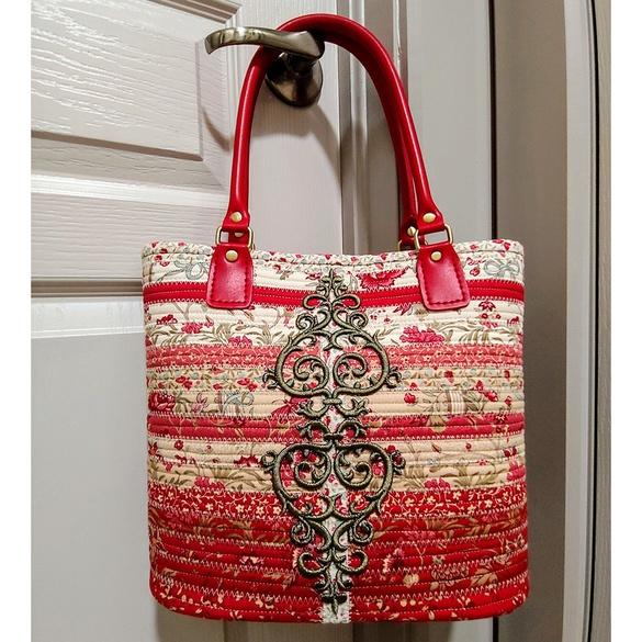 R.J. Designs, Jelly-Roll Handbag Pattern