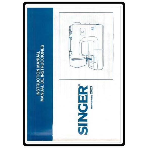 Instruction Manual, Singer 2623