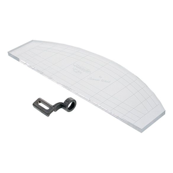 Ruler Foot w/ 3mm Arc Template, Low Shank