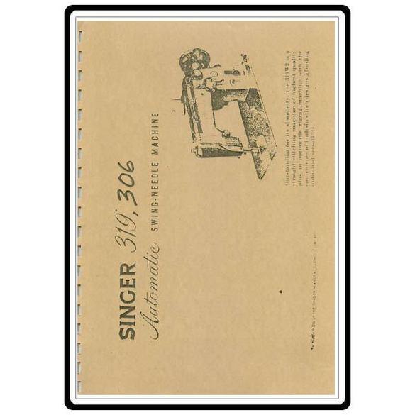 Instruction Manual, Singer 306