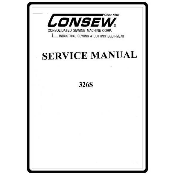 Service Manual, Consew 326S