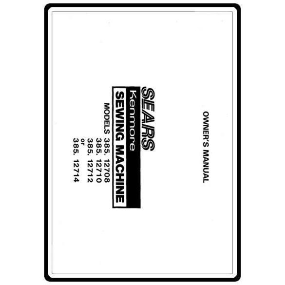 Service Manual, Kenmore 385.12712
