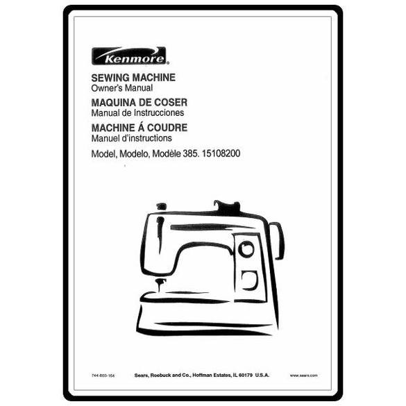 Service Manual, Kenmore 385.15108200