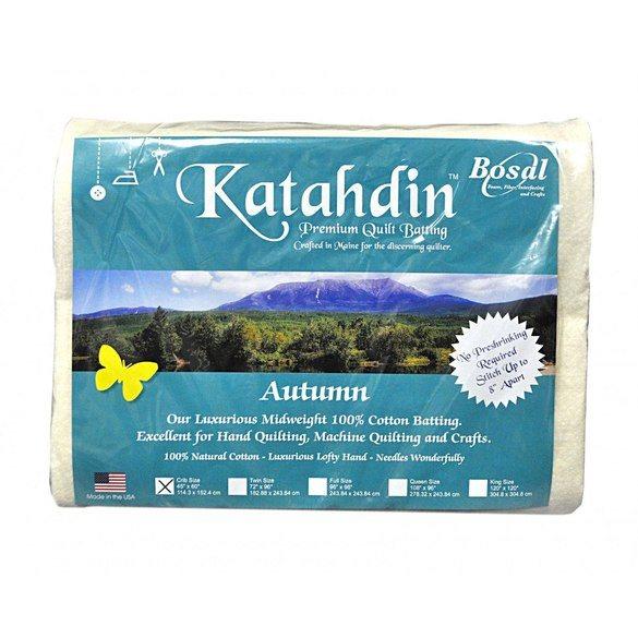 Bosal Katahdin Premium Cotton Batting - 45in x 60in