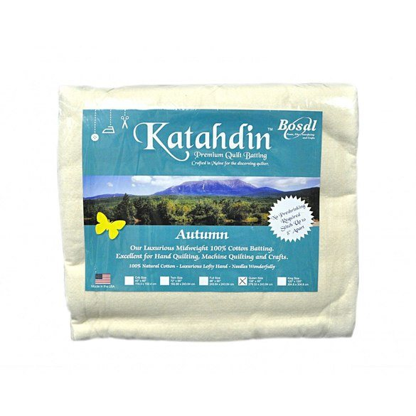 Bosal Katahdin Premium Cotton Batting - 96in x 108in