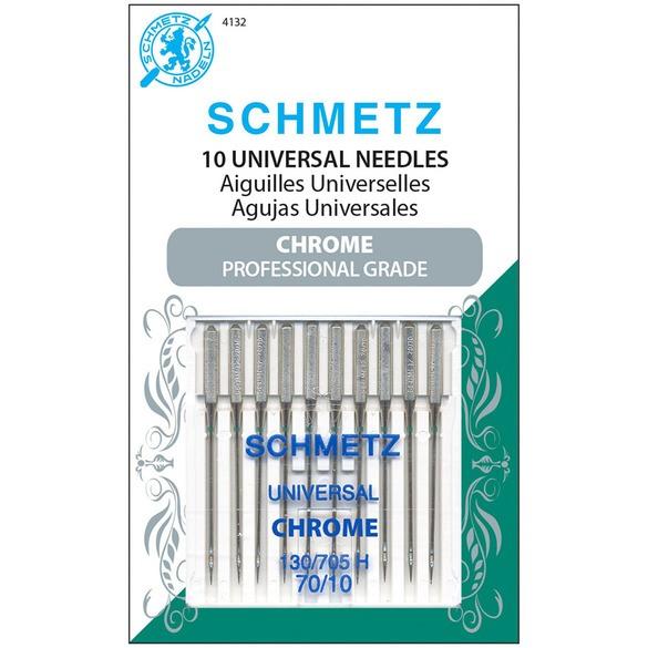Chrome Universal Needles, Schmetz (10pk)