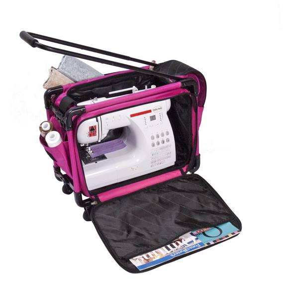 Tutto 17in Wheeled Sewing Machine Case