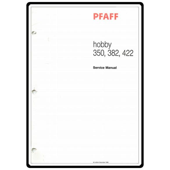 Service Manual, Pfaff 422