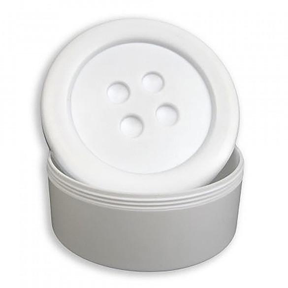 """Button Shaped Storage Box (3-1/4"""")"""