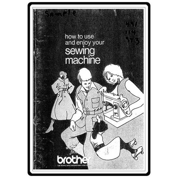Instruction Manual, Brother 491