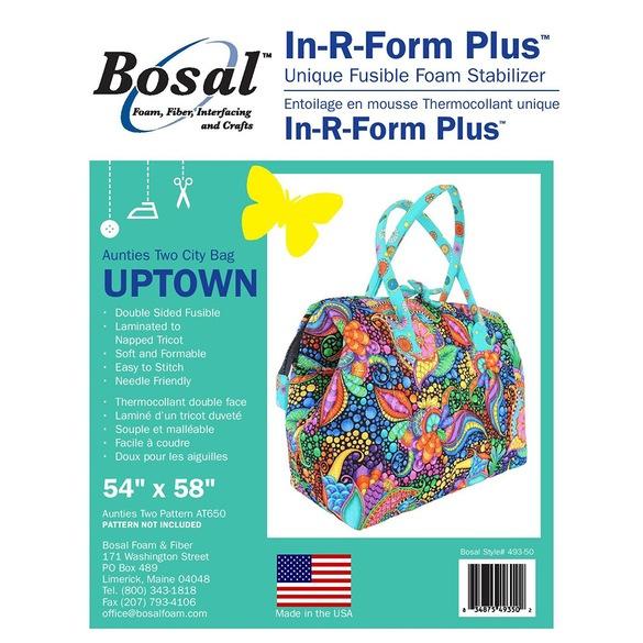 """Bosal In-R-Form Plus Unique Fusible Foam Stabilizer-18/""""X58/"""" 493-18"""