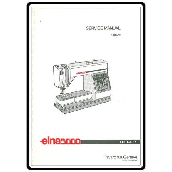 Service Manual, Elna 5000