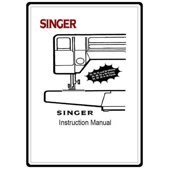 Instruction Manual, Singer 5040