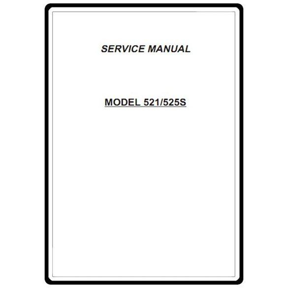 Service Manual, Janome 525S
