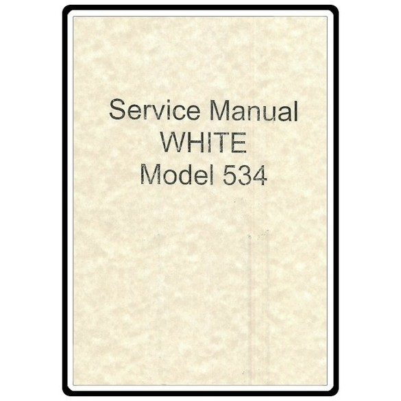 Service Manual, White 504