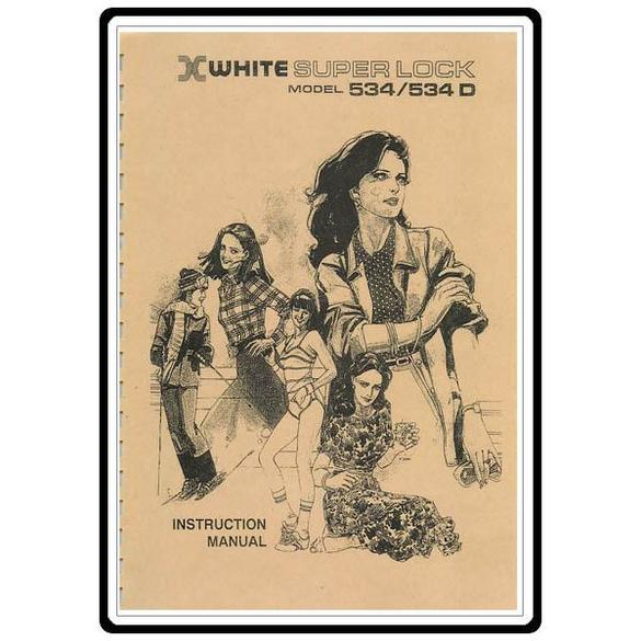 Instruction Manual, White 534D