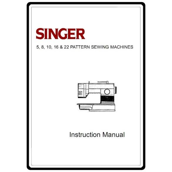 Instruction Manual, Singer 5932