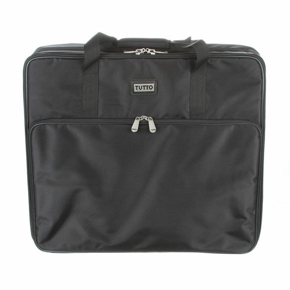 Embroidery Project Bag 23in - Black