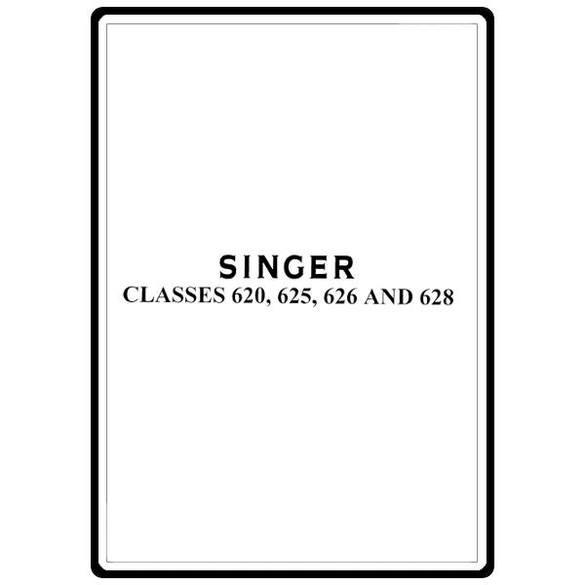 Service Manual, Singer 628