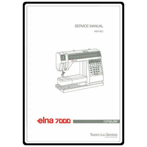 Service Manual, Elna 7000 Computer