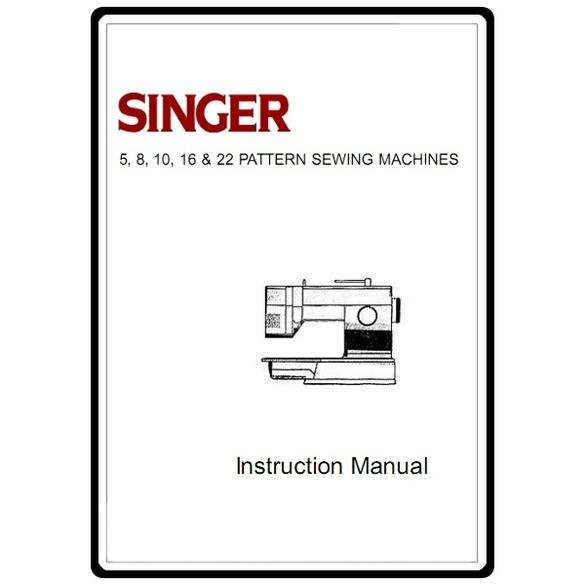 Instruction Manual, Singer 7028