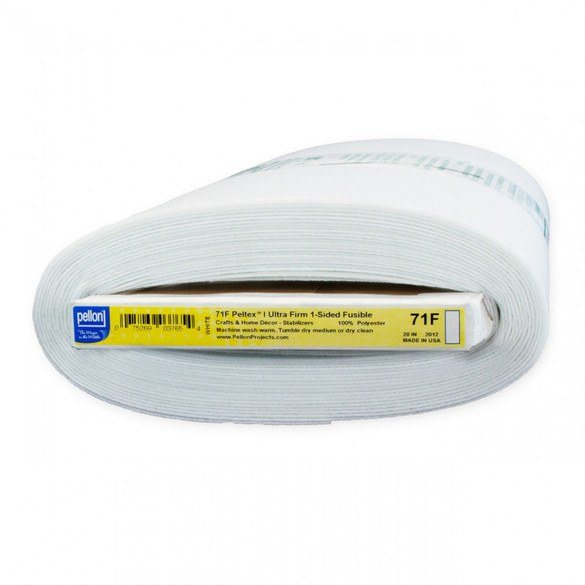 Peltex Single Sided Ultra Firm Fusible Stabilizer - 20in by 10yds