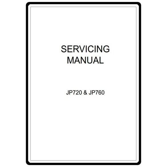 Service Manual, Janome JP720 Jem Platinum