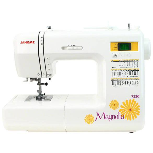 Janome Magnolia 40 Computerized Sewing Machine 40 Stitches Enchanting Janome Magnolia 7330 Sewing Machine
