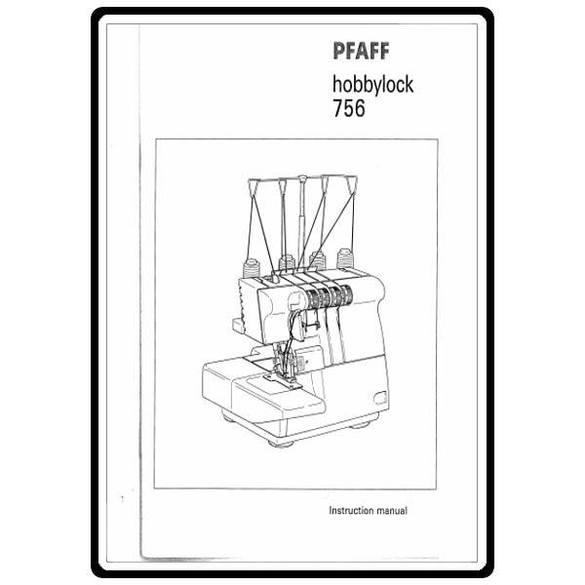 Service Manual, Pfaff 756