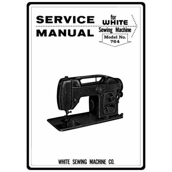 Service Manual, White 764
