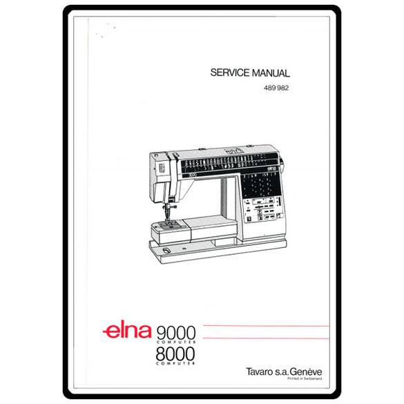 Service Manual, Elna 9000 Computer