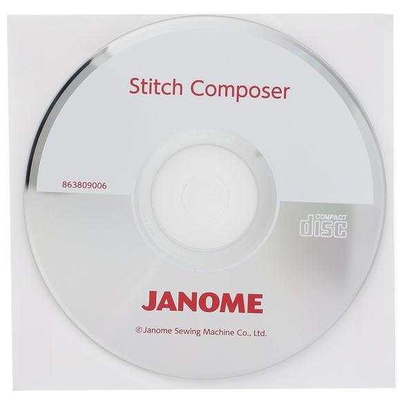 Stitch Composer CD-ROM, Janome #863809006