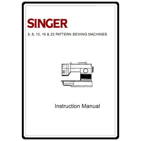Instruction Manual, Singer 9022