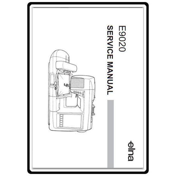 Service Manual, Elna 9020