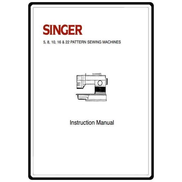 Instruction Manual, Singer 9034