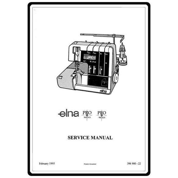 Service Manual, Elna 905