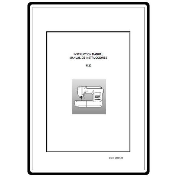 Instruction Manual, Euro Pro 9120