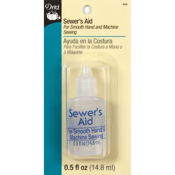 Dritz Sewer's Aid Clear Non-Staining Lubricant