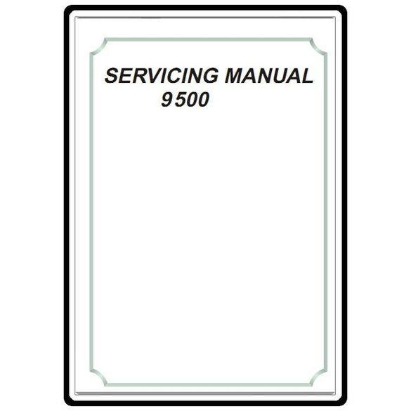 Service Manual, Elna 9500