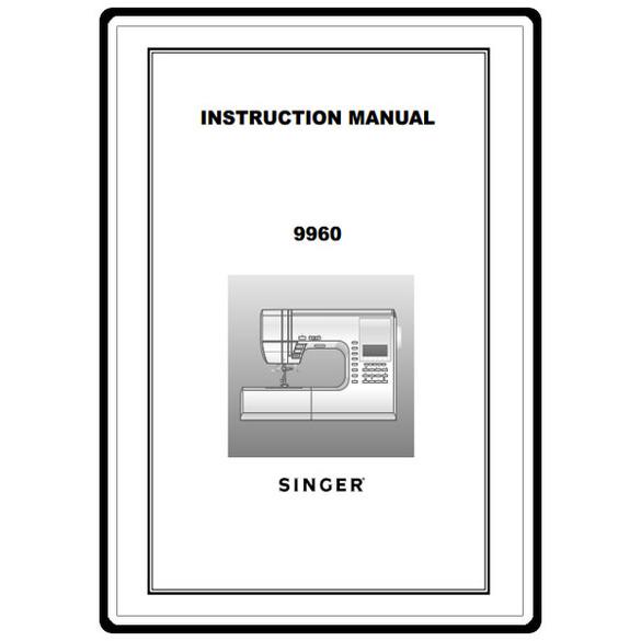 Instruction Manual, Singer 9960