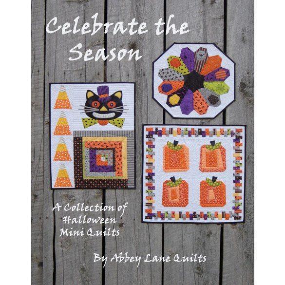 Celebrate the Season, Halloween, Abbey Lane Quilts