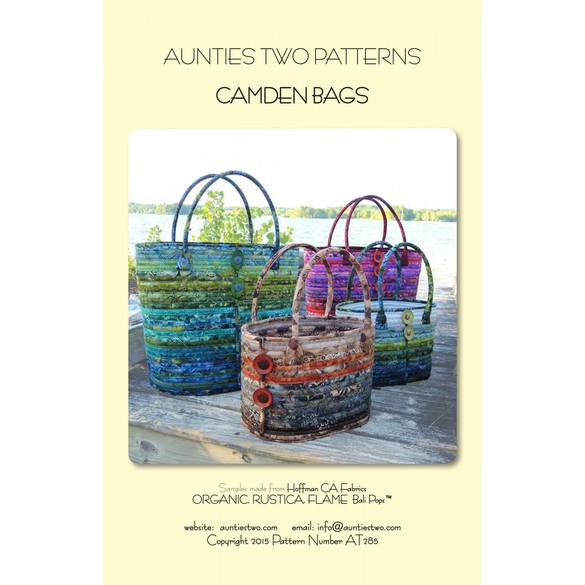 Camden Bags Patterns, Aunties Two Patterns