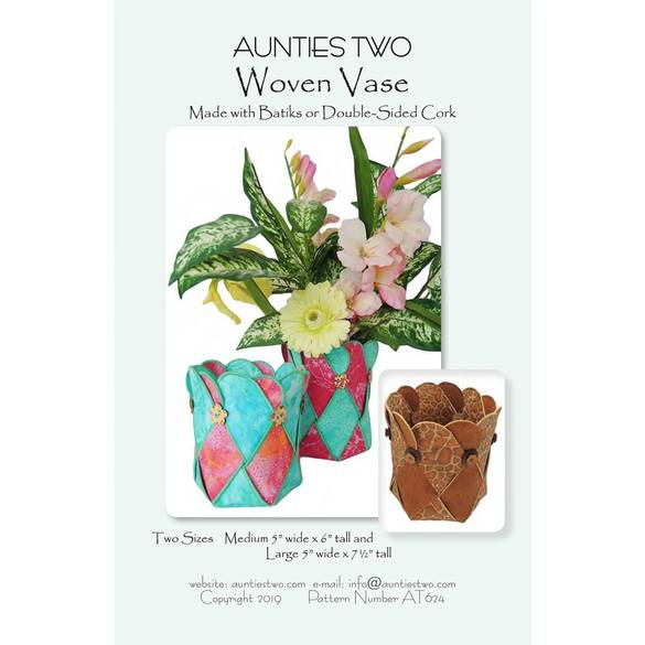 Woven Vase Pattern - Aunties Two