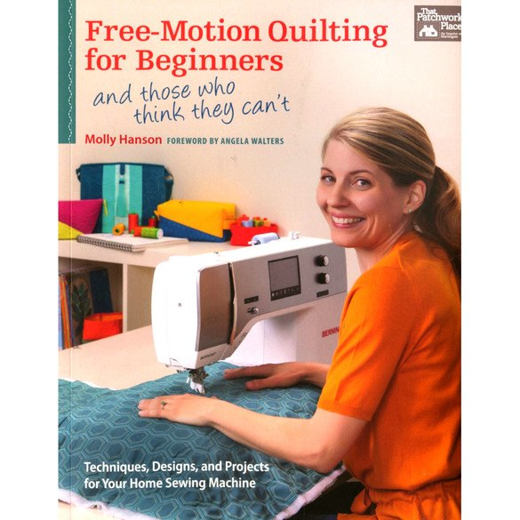 Free-Motion Quilting for Beginners Book