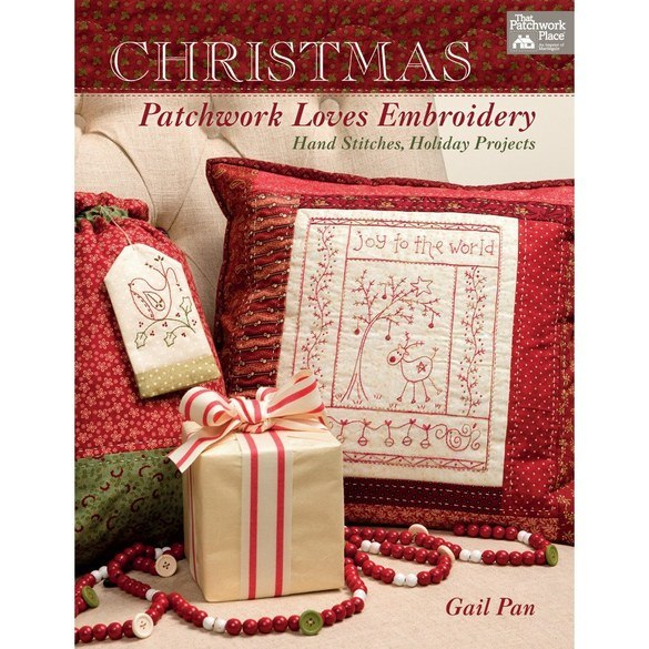 Christmas Patchwork Loves Embroidery, That Patchwork Place