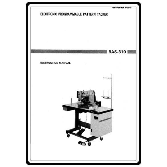 Instruction Manual, Brother BAS-310